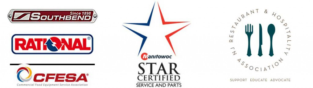 Southbend, Rational, CFESA, Manitowoc Star Certified Service & Parts, NJRHA, New Jersey Restaurant & Hospitality Association
