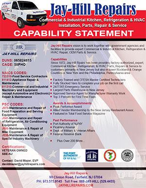 Capability Statement Jay Hill Repairs