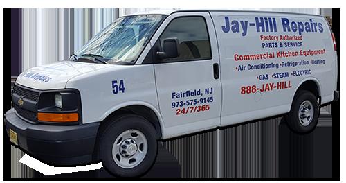 Jay-Hill Repairs Service Van