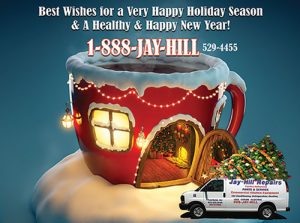 Happy Holidays from Jay-Hill Repairs