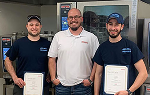 Jay-Hill Repairs Invests in Technicians with RationalCertification