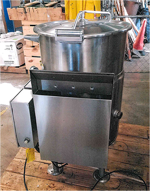 Cleveland Steam Kettle